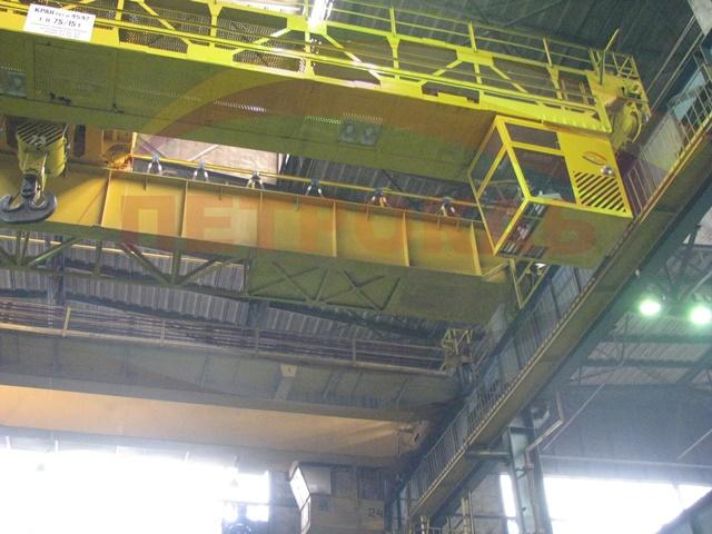 Кабина управления мостовых кранов вид снизу